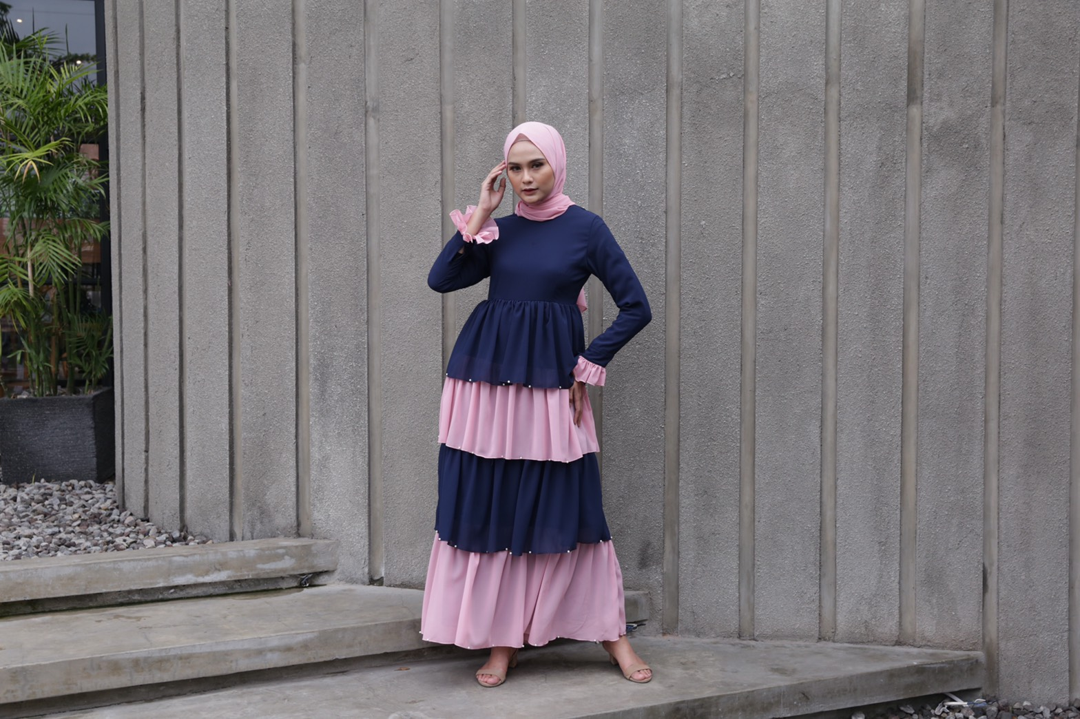 Delira Indigo Dress