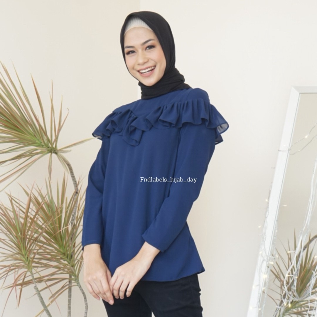 Elsie top navy