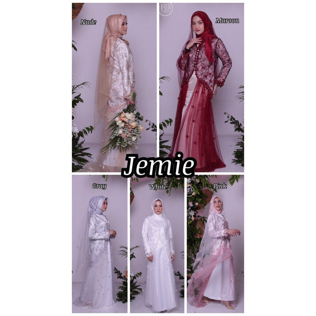 JEMIE PREMIUM GOWN BY FNDLABELS