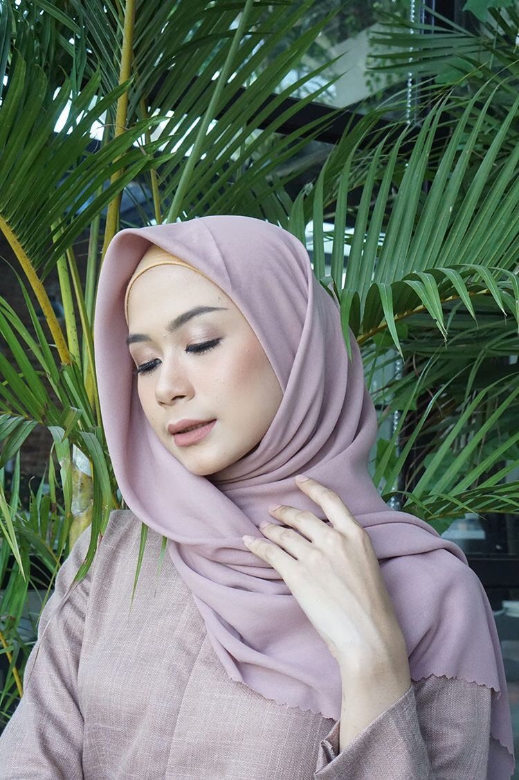 JILBAB WATERSPLASH PERIWINKLE PURPLE