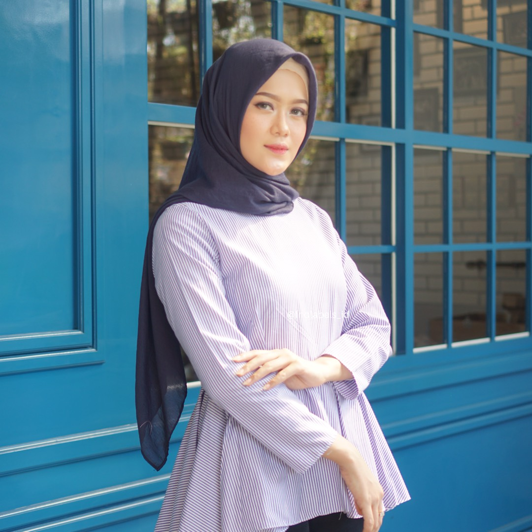 JOY TOP STRIPE NAVY