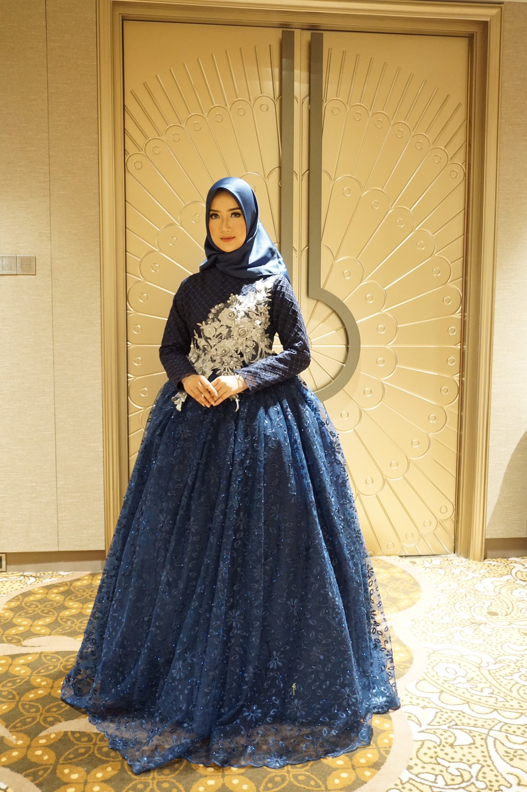 Kaheesha Wedding Navy