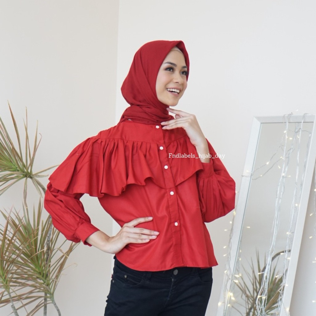 Mika top red