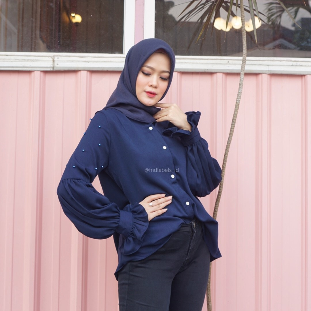 MITZY TOP NAVY