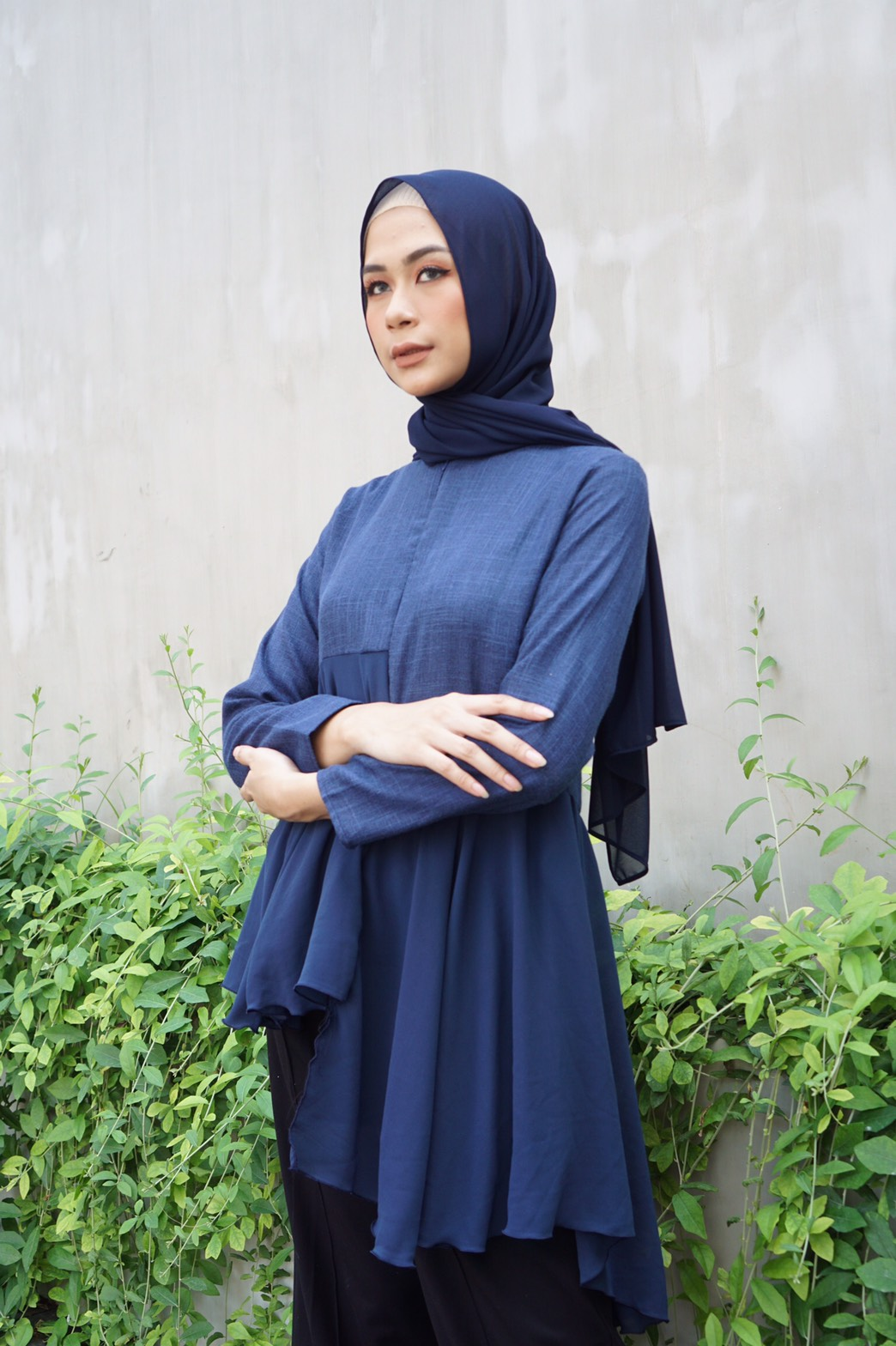 MOZZA TOP NAVY