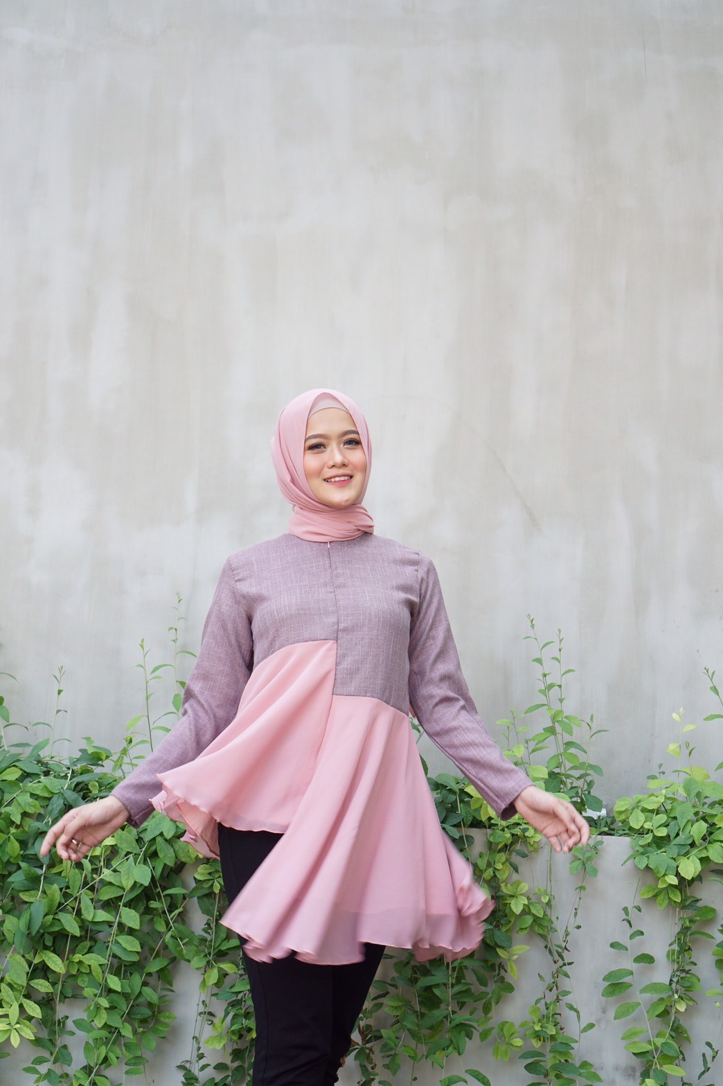 MOZZA TOP PINK SALEM