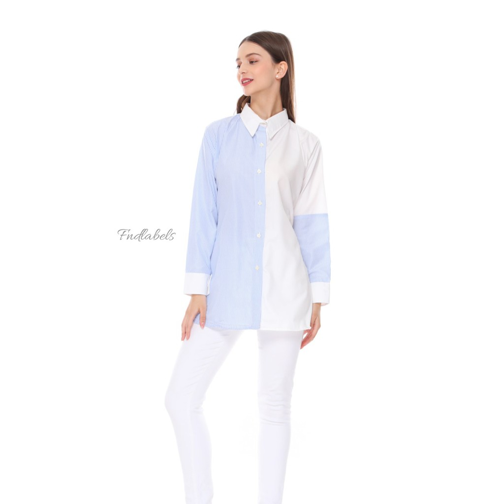 MYESHA TOP S BABY BLUE