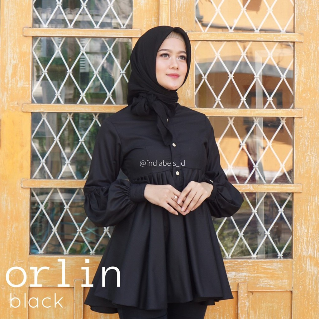 ORLIN TOP BLACK