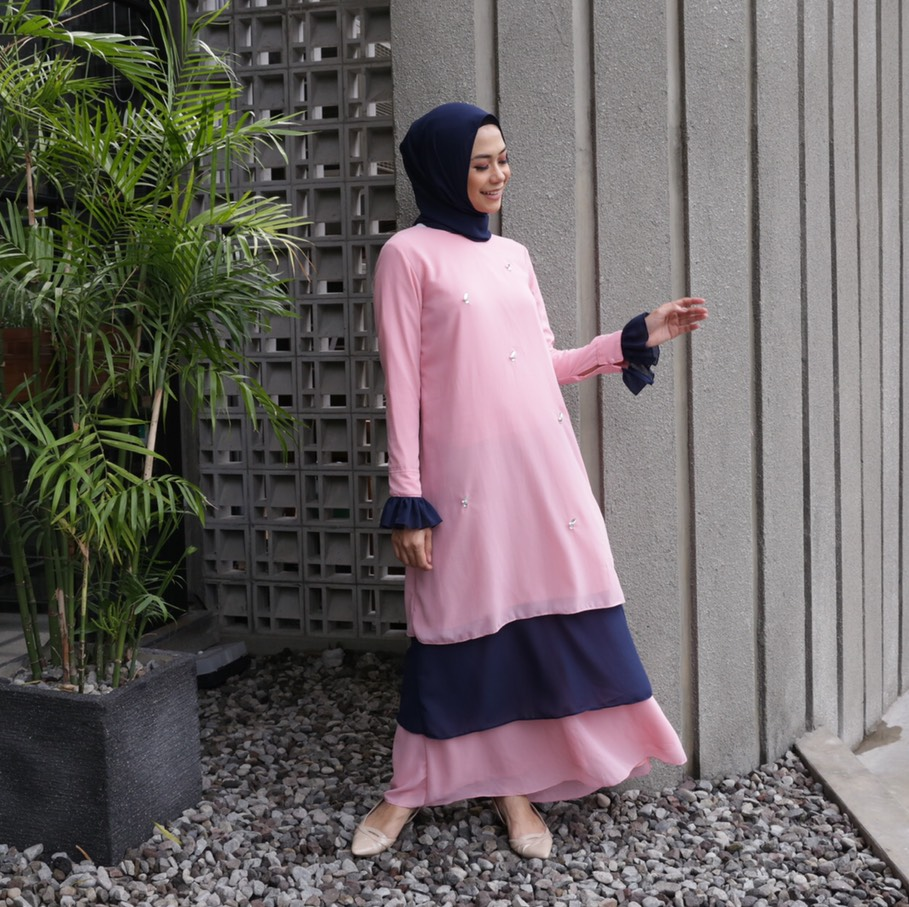 Rasyi Bublegum dress