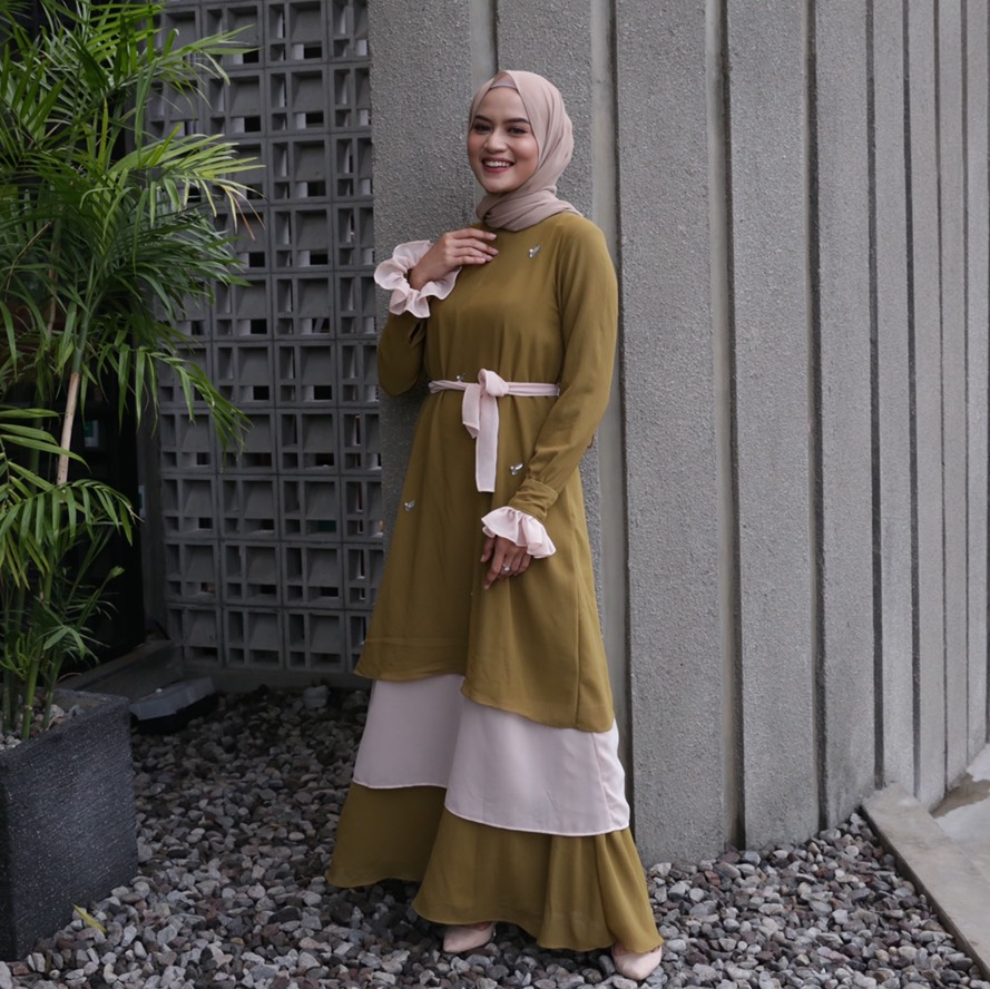Rasyi Goldenrod Dress