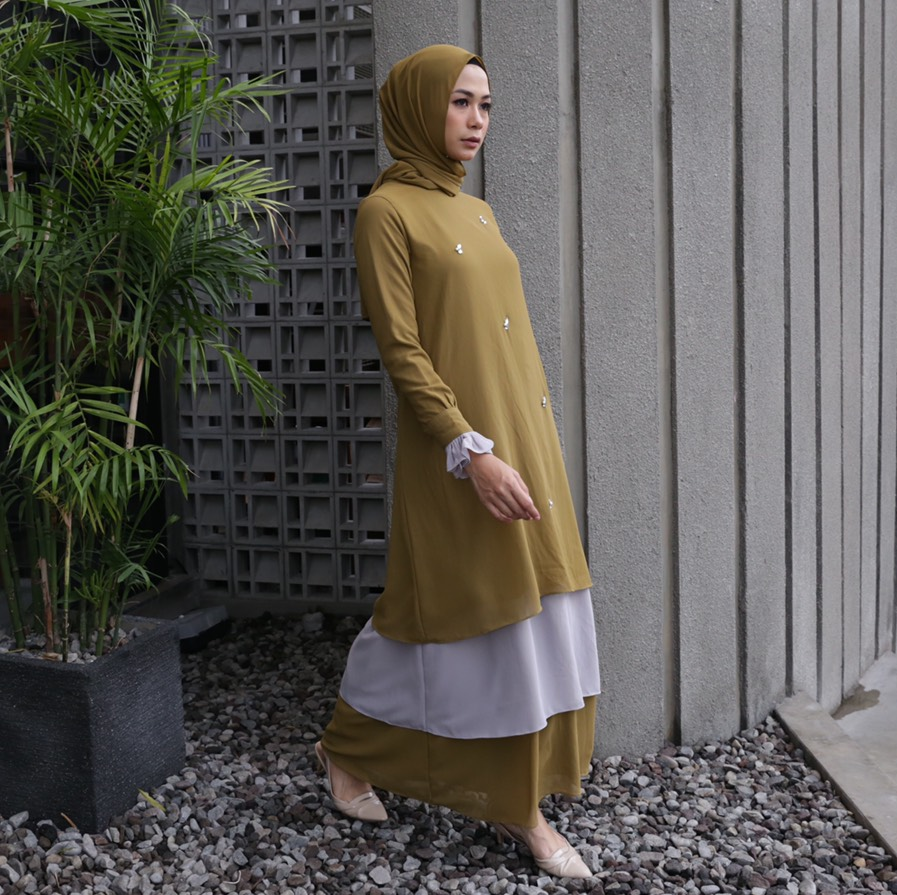 Rasyi Mossgreen Dress