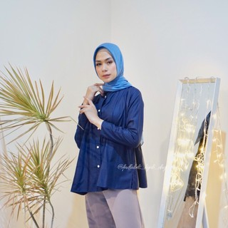 TIARA TOP NAVY